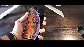 iPhone XS Max Gold Unboxing and Hands On | Vlog iPhone 10S Max