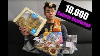 10,000 Calorie Challenge | Powerlifter vs Food