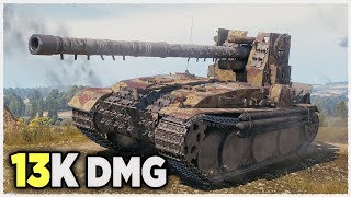 Grille 15 • 13K damage WITHOUT GOLD AMMO • WoT Gameplay