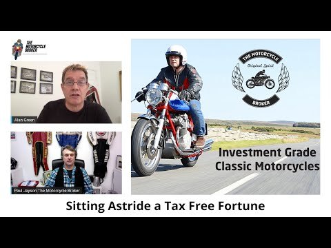 Alan Green & Paul Jayson discuss Classic Motorcycle Investment