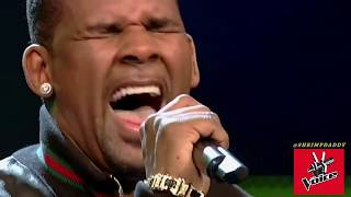 THE VOICE SURPRISE BLIND AUDITION R. KELLY