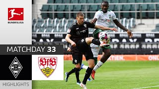 Borussia M'gladbach - VfB Stuttgart | 1-2 | Highlights | Matchday 33 – Bundesliga 2020/21