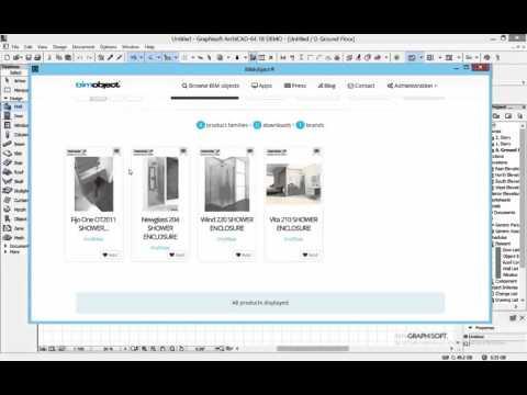 Archivos de PROFILTEK en formato ArchiCAD en BIMOBJECT