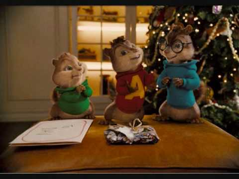 Chipmunks-we wish you a merry christmas