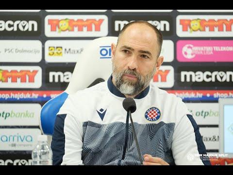 Trener Tudor uoči Osijek - Hajduk