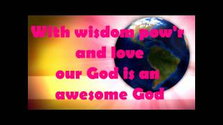 AWESOME GOD - Children's Worship song