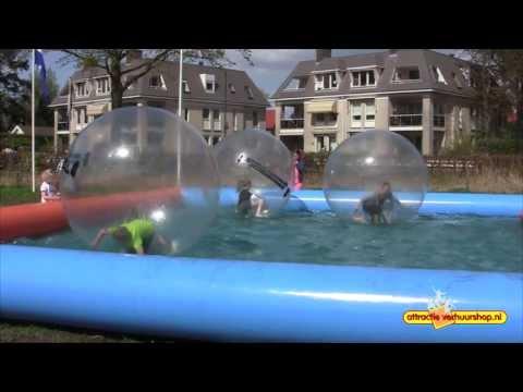 Waterballen met Bassin Huren | Attractie Verhuurshop.nl
