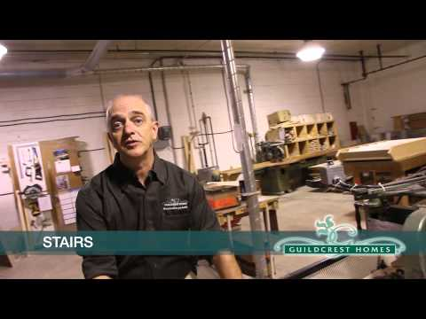 Guildcrest Factory Tour: Component Saw and Stair Shop