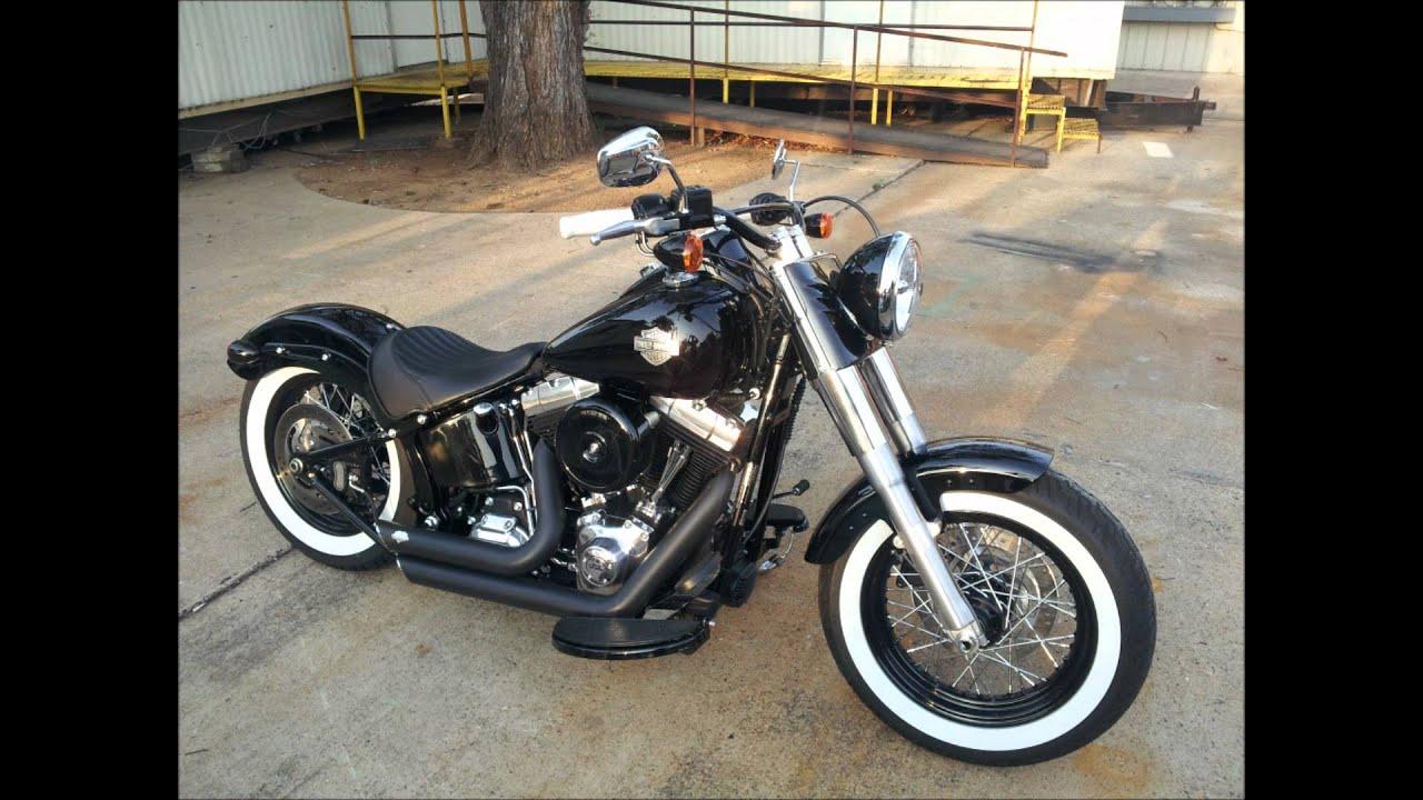 2013 Harley Softail Slim Bad A Youtube