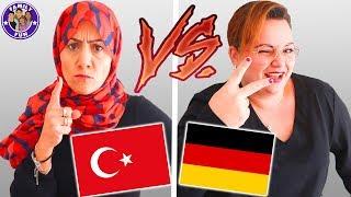 DEUTSCHE VS AUSLÄNDISCHE Mütter - Türkisch vs Deutsch - Family Fun