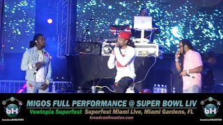 MIGOS CONCERT @ SUPER BOWL LIV in Miami (Quavo, Offset & Takeoff claim BEST GROUP In The WORLD!)
