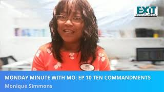 Monday Minute With Mo  Ep 10 Ten Commandments