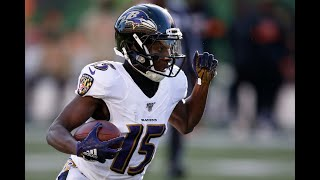 """Marquise """"Hollywood"""" Brown Official NFL Rookie Highlights 2019    Baltimore Ravens"""