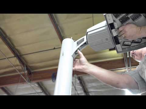 Demo: One person installation of a Warp9 on an existing pole