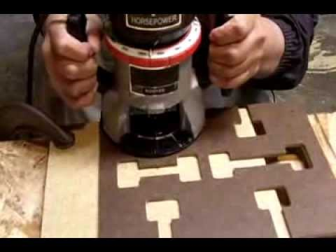 How To Make Mortise Slots In Counter Top For Miter Bolts