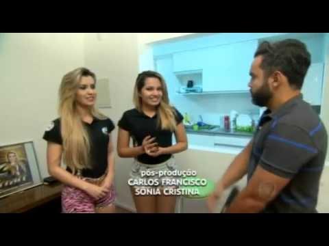 Leo Magalhães e a Filha da Joelma da Banda Calypso no Câmera Record