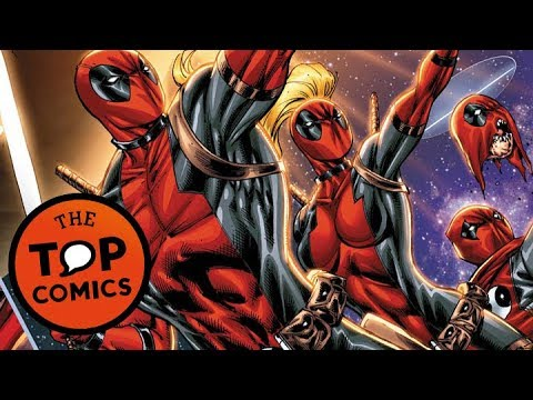 Diferentes versiones de Deadpool