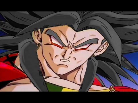 Revival of Broly: The ascension to Super Saiyan 4! (LSSJ4 Broly vs Goku & Z fighters)