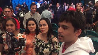 (WHOA!!) JINKEE PACQUIAO & FAMILY PREDICT LATE STOPPAGE IN 10TH OR 12TH ROUND FOR MANNY PACQUIAO