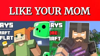 Every Mom Joke In Luke TheNotable's Minecraft Hardcore Series