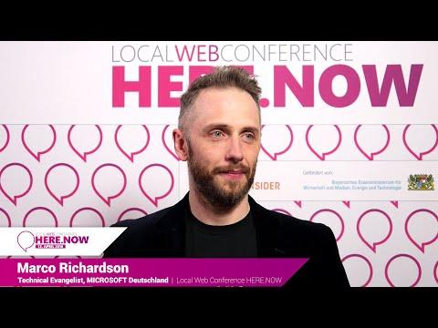 Interview: Marco Richardson über neue Technologien für lokale Dienste