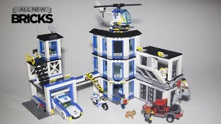 LEGO City 2017 Police Station review 👮 60141 - Downlossless
