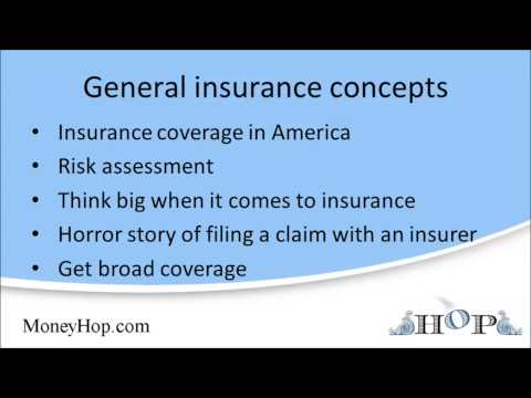 General insurance concepts