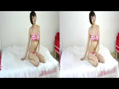Stereoscopic 3D 立体視 グラビア 萌木七海 無料動画 - Japanese Sexy Bikini Gravue in Yt3D HD