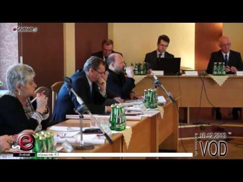 XLII sesja Rady Miejskiej Grudziądza