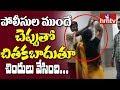 Woman thrashes live-in partner with slipper in Vanasthalipuram