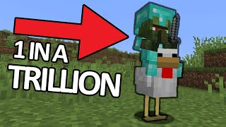Found The RAREST Mob EVER! Minecrafts Funniest Clips #2
