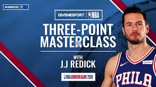 Three-Point Shooting Masterclass with J.J. Redick | GiveMeSport