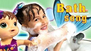 Bath Song | SHK Nursery Rhymes & Kids Songs