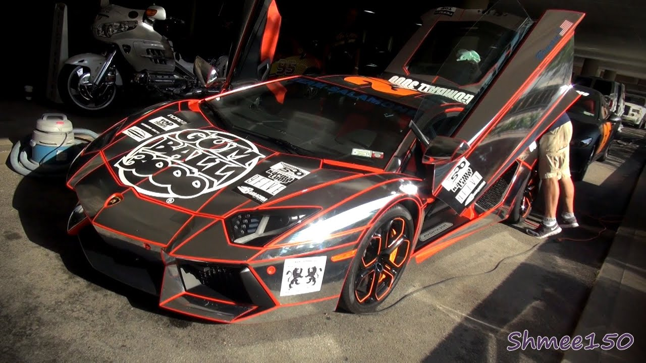 Gumball 3000 2012: Team Salamone CHROME Aventador - YouTube