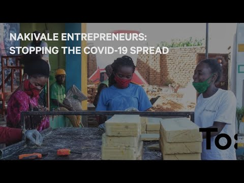 A women's group in Nakivale Refugee Settlement, run by entrepreneur Daniella, are producing a soap that can be used both for laundry and for hand washing - servicing 1,000 families, and ensuring that Nakivale's residents can perform the simplest self-protection against COVID-19. Video courtesy of TO.org.