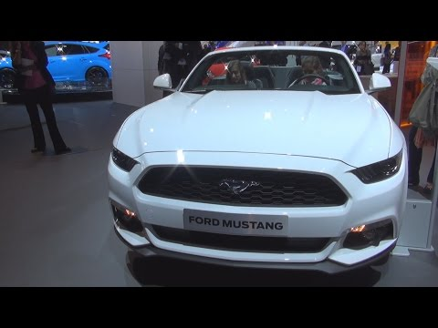 Ford Mustang 2.3 EcoBoost 233 kW Automatic (2016) Exterior and Interior in 3D