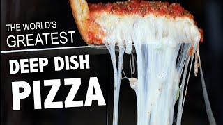 WE TRY 7 DEEP DISH PIZZAS 🍕IN CHICAGO