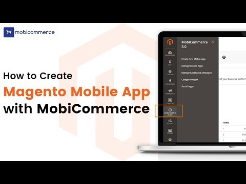 Mobile Commerce Platform MobiCommerce - How It Works