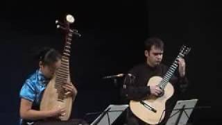 Liu Fang - pipa and guitar duo: traditional Irish music