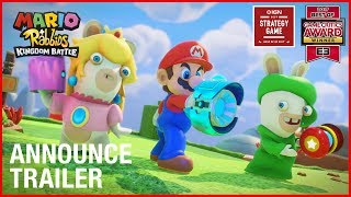 Mario + Rabbids Kingdom Battle: E3 2017 Announcement Trailer | Ubisoft [NA]