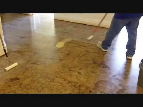Do It Yourself Concrete Staining How To Stain Concrete