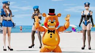 ANIMATRONICS FREDDY FOI PRESO INJUSTAMENTE? | GTA V Five Nights at Freddy's