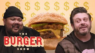 The Ultimate Expensive Burger Tasting with Adam Richman | The Burger Show