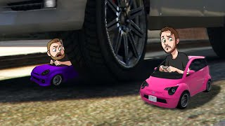 Hide And Seek With TINY CARS! | GTA5