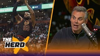 Colin Cowherd on the new-look Cavaliers after their 121-99 win over the Celtics | THE HERD