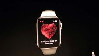 Apple Watch Series 4 with ECG sensor | Apple Launch Event