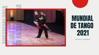 Mundial de tango 2021, categoria escenario, clasificatoria, tango Buenos Aires