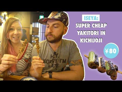 Iseya: Super Cheap Yakitori in Kichijoji
