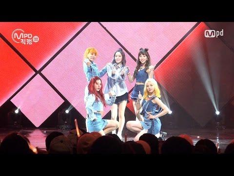 [MPD직캠] 레드벨벳 럭키걸 직캠 Lucky Girl Red Velvet Fancam @엠카운트다운_160908