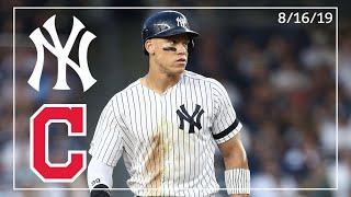 Cleveland Indians @ New York Yankees | Game Highlights | 8/16/19